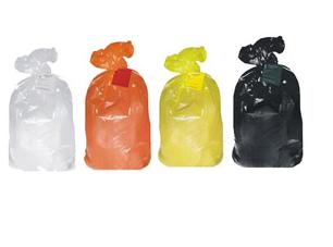 Пакеты полиэтиленовые со стяжками одноразовые