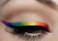 Цветной перманентный макияж (татуаж) глаз