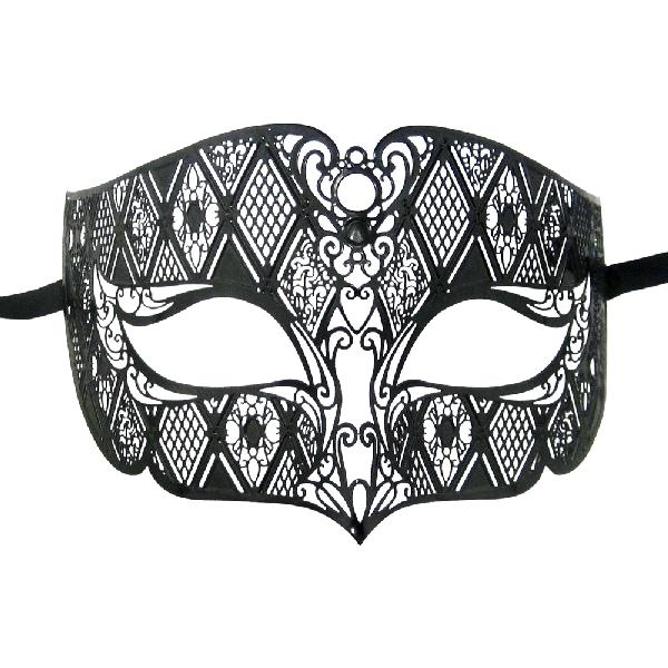 Burlesque-Boutique-Men's-Diamond-Design-Laser-Cut-Venetian-Masquerade-Mask-1