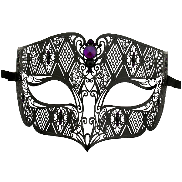 Burlesque-Boutique-Men's-Diamond-Design-Laser-Cut-Venetian-Masquerade-Mask-2