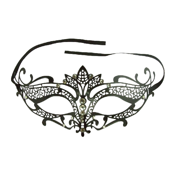 Burlesque-Boutique-Women's-Laser-Cut-Metal-Tiara-Venetian-Pretty-Masquerade-Mask-2