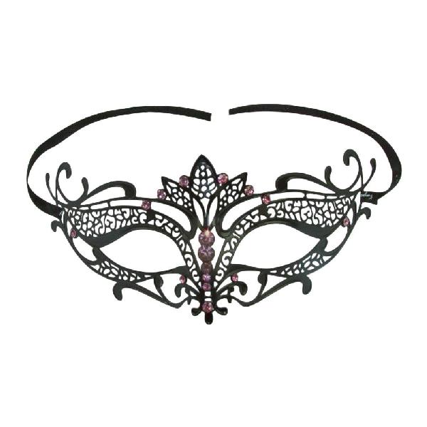 Burlesque-Boutique-Women's-Laser-Cut-Metal-Tiara-Venetian-Pretty-Masquerade-Mask-3