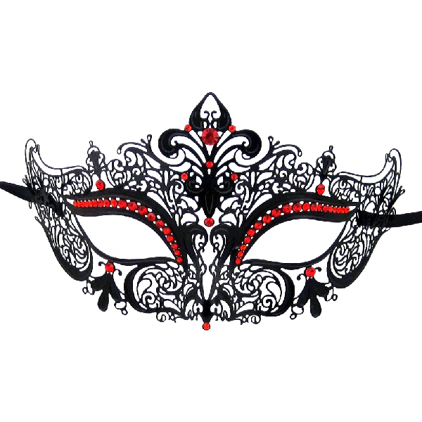 Burlesque-Boutique-Women's-Laser-Cut-Metal-Venetian-Crown-Mask-1