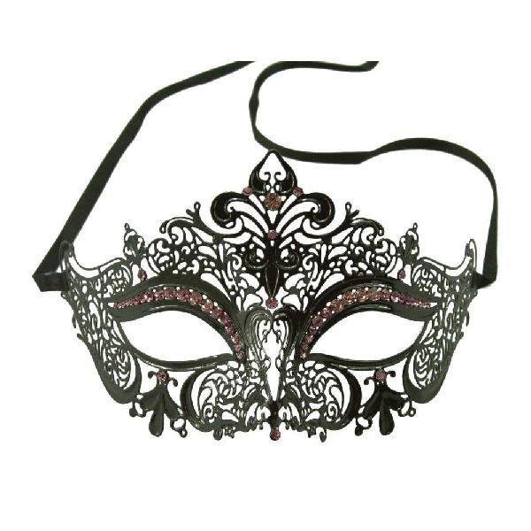 Burlesque-Boutique-Women's-Laser-Cut-Metal-Venetian-Crown-Mask-2