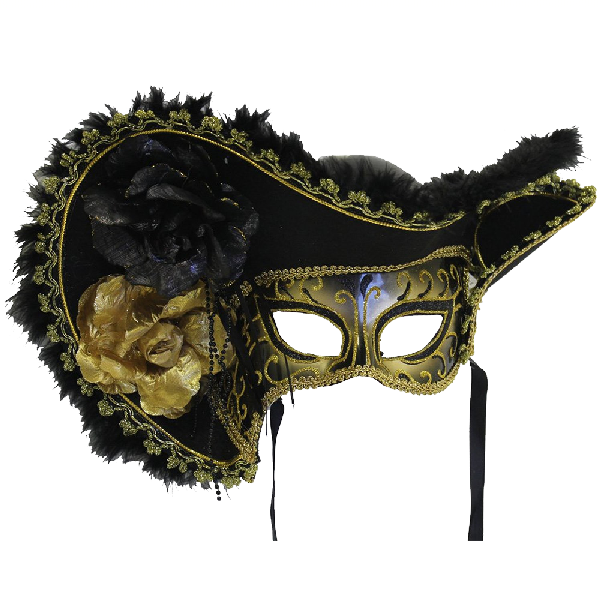 Forum-Novelties-Women's-Adult-Venetian-Mask-with-Hat-1