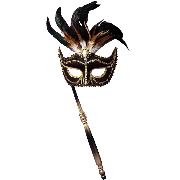 Forum-Novelties-Women's-Feather-Masquerade-Mask-with-Holding-Stick-3