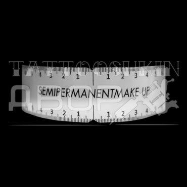 Линейка для бровей SEMI