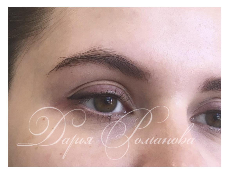 Перманентный макияж замечательное средство, чтобы убрать синяки под глазами.