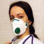 Защитная маска с респиратором